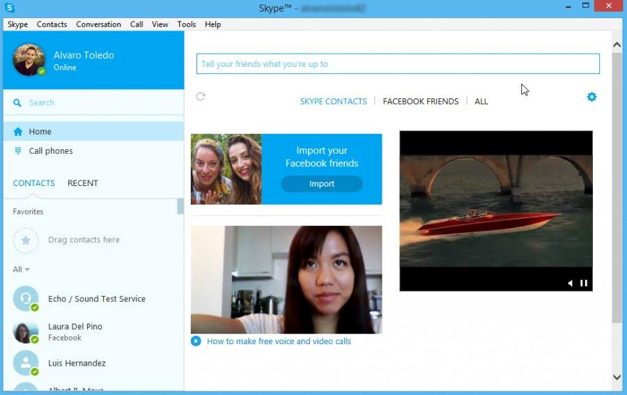 Как сделать скайп по русски