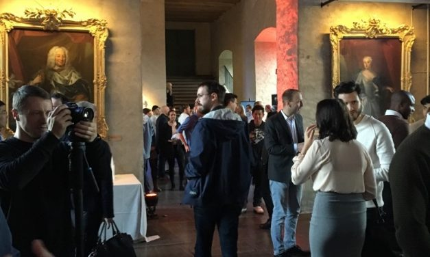 UPPSTART, a super cool tech startup conference in a castle