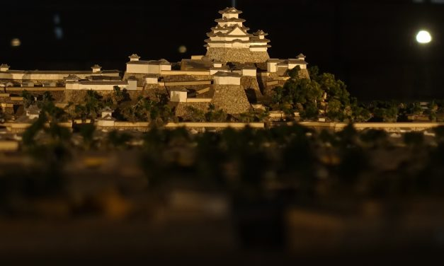 Where is the best place to see Himeji Castle?