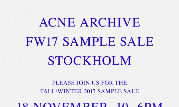 How to get Acne Studios rare items