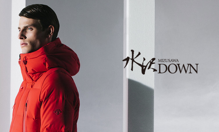 Mizusawa Down (Descente) changed Acne Studios freak's mind