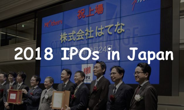 Japan's attention-grabbing IPOs in the second half of 2018
